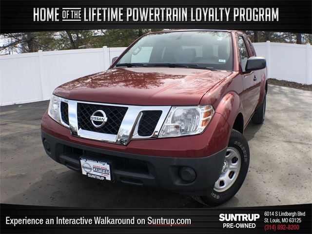 Certified Pre-Owned 2015 Nissan Frontier S
