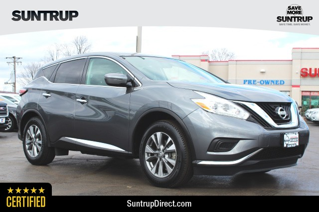 Certified Pre Owned 2017 Nissan Murano S