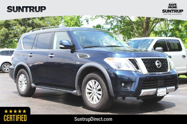 Certified Pre-Owned 2018 Nissan Armada SV