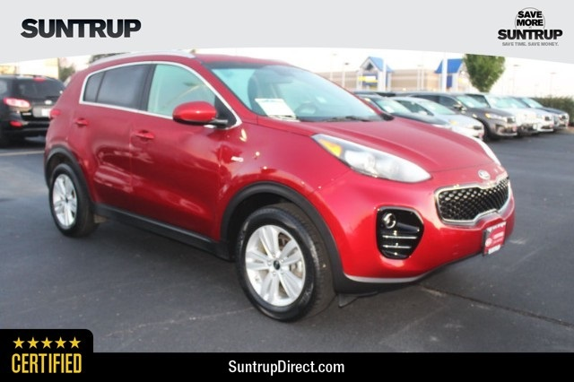 Kia Certified Pre-Owned >> Certified Pre Owned 2017 Kia Sportage Lx Awd