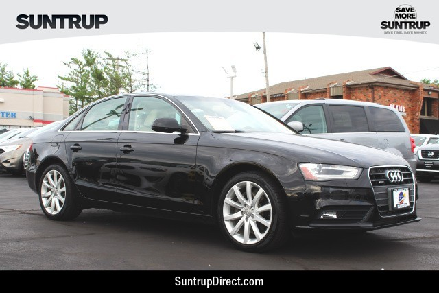 Pre-Owned 2013 Audi A4 Premium Plus