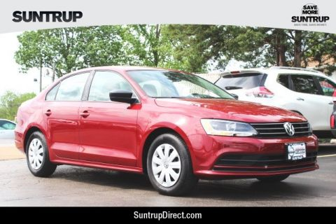 Certified Pre-Owned 2016 Volkswagen Jetta Sedan 1.4T S
