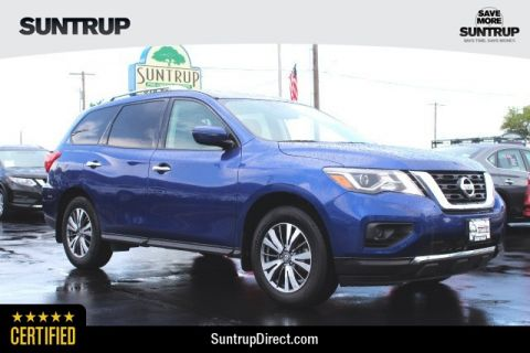 Certified Pre-Owned 2018 Nissan Pathfinder S
